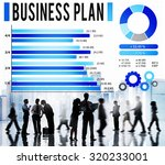 business plan strategy planning ... | Shutterstock . vector #320233001
