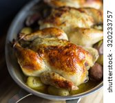 Roasted Cornish Hens And...