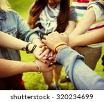 team teamwork relation together ... | Shutterstock . vector #320234699