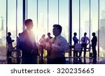 business people discussion... | Shutterstock . vector #320235665