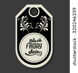 black friday concept with ... | Shutterstock .eps vector #320246339