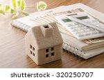 housing plan  | Shutterstock . vector #320250707