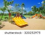 children playground in the park | Shutterstock . vector #320252975