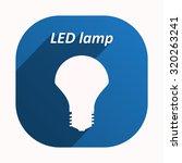 led lamp . icon. vector design   Shutterstock .eps vector #320263241