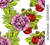 abstract elegance seamless... | Shutterstock .eps vector #320265095
