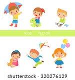 kids vector | Shutterstock .eps vector #320276129