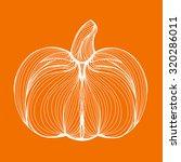 vector illustration of one... | Shutterstock .eps vector #320286011