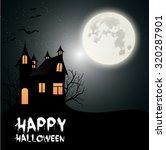 vector illustration of happy...   Shutterstock .eps vector #320287901