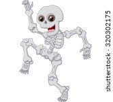 Halloween Skeleton Jumping Wit...