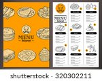 modern looking vector template... | Shutterstock .eps vector #320302211