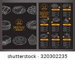 modern looking vector template... | Shutterstock .eps vector #320302235