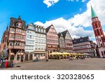 old traditional buildings in... | Shutterstock . vector #320328065