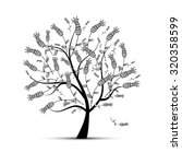 art tree beautiful for your... | Shutterstock .eps vector #320358599