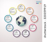 infographics with element in... | Shutterstock .eps vector #320359919