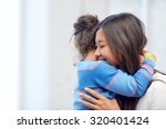 family  children  love and... | Shutterstock . vector #320401424