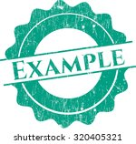 example grunge seal | Shutterstock .eps vector #320405321