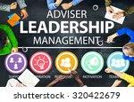 adviser leadership management... | Shutterstock . vector #320422679
