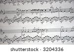 music notes background | Shutterstock . vector #3204336
