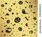 halloween texture and background | Shutterstock . vector #320440421