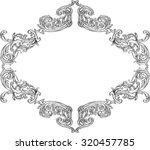 ornate acanthus nice ornament...   Shutterstock .eps vector #320457785