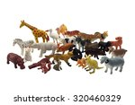 Isolated Animals Toys Photo....