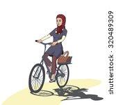 vector cartoon illustration... | Shutterstock .eps vector #320489309