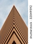 this is a tall brown building | Shutterstock . vector #32049592