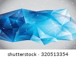 abstract futuristic  ... | Shutterstock .eps vector #320513354