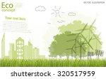 tree silhouette  home  city ... | Shutterstock .eps vector #320517959