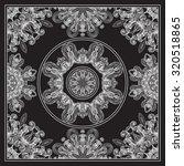 black bandana print | Shutterstock .eps vector #320518865