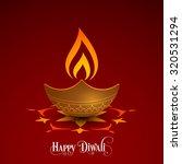 illustration of diwali for the... | Shutterstock .eps vector #320531294