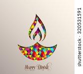 illustration of diwali for the... | Shutterstock .eps vector #320531591