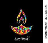 illustration of diwali for the... | Shutterstock .eps vector #320531621