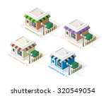 isometric high quality city... | Shutterstock .eps vector #320549054