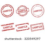 sample stamps | Shutterstock .eps vector #320549297