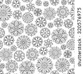 pattern for coloring book....   Shutterstock .eps vector #320576975