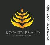 royalty brand luxury brand logo ...   Shutterstock .eps vector #320585009