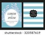 vintage delicate invitation...   Shutterstock . vector #320587619