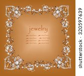 jeweler decoration. scope ... | Shutterstock .eps vector #320597639