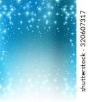 snow christmas background | Shutterstock .eps vector #320607317