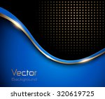 abstract background blue with... | Shutterstock .eps vector #320619725