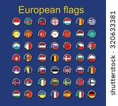 illustration of european... | Shutterstock . vector #320633381