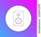 flat design icon   stereo