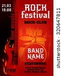rock music group concert or... | Shutterstock . vector #320647811