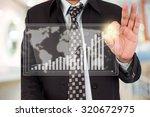businessman standing posture... | Shutterstock . vector #320672975