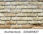 textured brick wall  detail of... | Shutterstock . vector #320684837