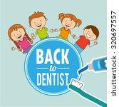 children dental care design ... | Shutterstock .eps vector #320697557