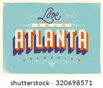 vintage style touristic... | Shutterstock .eps vector #320698571