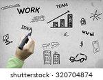 business plan   Shutterstock . vector #320704874