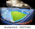 panoramic view of a football... | Shutterstock . vector #32071462